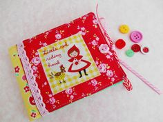 Little Red Riding Hood Needlebook by picocrafts on Etsy
