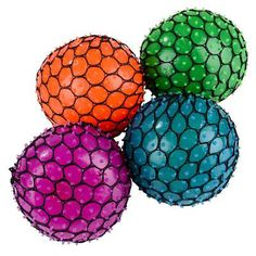 Mesh Squishy Ball Mesh, Stress Ball and Stress