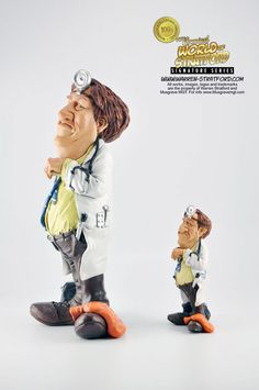This is a doctor collectible figurine. It is the perfect gift for Fathers Day, retirement, birthday or event. Warren Stratford http://www.warren-stratford.com/who-is-warren-stratford/ is the master of the collectible figurine. Warren Stratford www.warren-stratford.com is the world's most loved comic artist. His collectible figurines are sold in the best retail and online shops in the world.