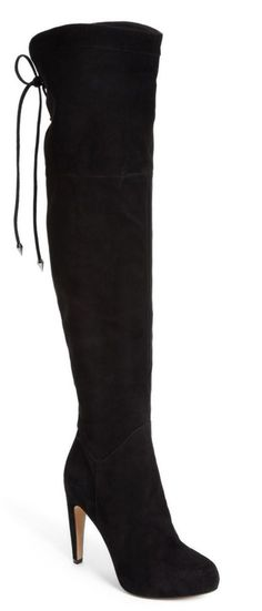 Fall must-have | svelte & sexy over-the-knee boots.