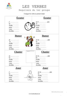 Learning French or any other foreign language require methodology, perseverance and love. In this article, you are going to discover a unique learn French method. French Expressions, French Language Lessons, French Language Learning, French Lessons, French Flashcards, French Worksheets, French Verbs, French Grammar, French Teaching Resources