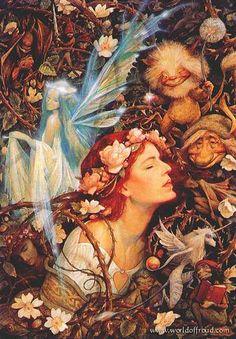 Brian Froud: Autumn Fairies