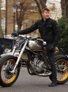 Blouson textile Scramble Triumph Motorcycles Legend shop