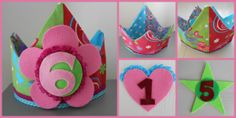 Superleuk verjaardagskroontje voor meisjes van 1 tot 99 jaar. Het embleem met de leeftijd van de jarige is verwisselbaar dus meerdere jaren te gebruiken