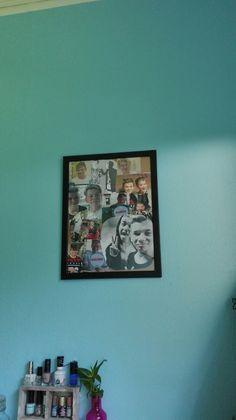 Så hang jeg den endelig op Den, Photo Wall, Frame, Home Decor, Picture Frame, Photograph, Decoration Home, Room Decor, Frames