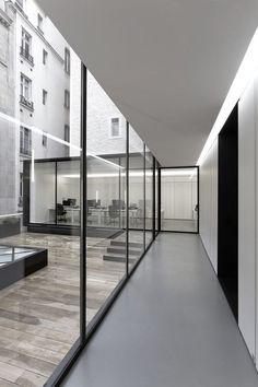 Dior Men Office Paris ┃ Antonio Virga Architecte + Dior Men Architecture Department: