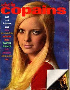 France Gall - Salut Les Copains - Magazine n° 72 - Juillet 1968