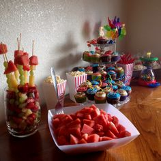 Carnival themed birthday party.