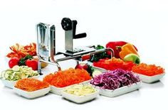 World Cuisine Rouet Spiral Vegetable Slicer World Cuisine ** See this great product. (Amazon affiliate link)