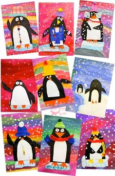 Knutselen 2d: Pinguins