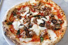Pizza at Settebello (Las vegas, NV). #UniqueEats #pizza