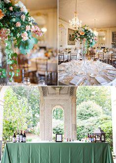 Glen Manor House Wedding | Portsmouth Wedding | Gangster Themed Glam Wedding