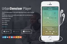 UrbanDenoiser: Why it is an unique music player