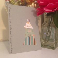 My friend @lou_actually always makes the best Christmas cards every year! #handmade #christmascard