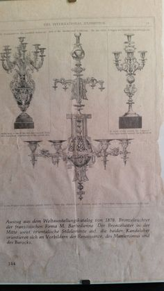 Sehr großer, imposanter Kerzenleuchter BARBEDIENNE von 1877/78   eBay