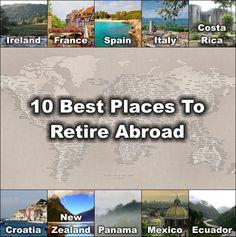 best places singles retire overseas