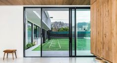 How to Choose Sliding Doors Exterior for Minimalist House Design Window Fly Screens, Fly Screen Doors, Minimalist House Design, Minimalist Home, Security Door, Security Screen, Modern House Facades, Folding Doors, Facade House