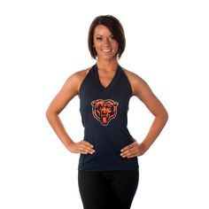 """Chicago Bears Women's Official NFL """"Blown Coverage"""" Halter 