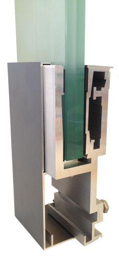 GG-1004  Glasgeländer Profil - Profil garde-corps - Glass railing profil -  Profil za staklene ograde Glass Balustrade, Glass Railing, Bookends, Home Decor, Profile, Decoration Home, Room Decor, Glass Handrail, Glass Handrail