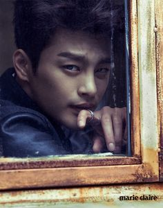 Seo In Guk on Marie Claire Korea