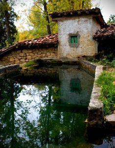 Efimerata: 9 paraísos en Las Merindades de Burgos. Herrán y río Purón