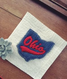 Stain Techniques, The Buckeye State, Coffee Staining, Ohio State University, Primitive, Kids Rugs, Quilts, Pillows, Sewing