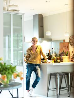 A modern townhouse has become a vehicle of healing for food writer Sarah Tuck.
