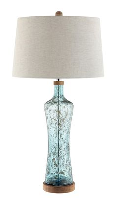 Allie Table Lamp in Blue by Stein World Furniture - Home Gallery Stores