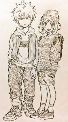 Bakugou Katsuki & Uraraka Ochako