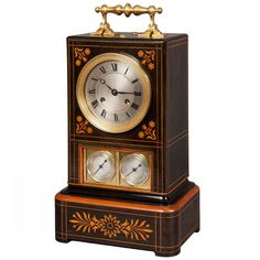 Antique French Mantle Clock | From a unique collection of antique and modern clocks at https://www.1stdibs.com/furniture/more-furniture-collectibles/clocks/
