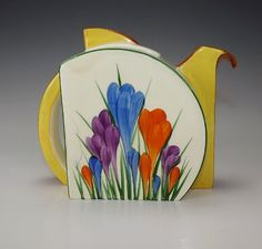 Clarice Cliff art deco teapot