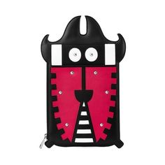 Aspinal of London Kingsley The Cyber Bug Clutch (£84) ❤ liked on Polyvore featuring bags, handbags, clutches, kingsley the cyber bug, fuschia purse, geometric purse, pouch purse, ipad handbags and ipad pouch