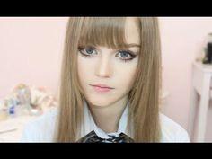 Dakota Rose and Doll inspired Makeup by Hanan Alnajadah حنان النجاده - YouTube