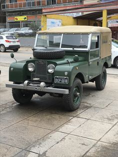 Land Rover 86 Serie One soft top canvas 1948