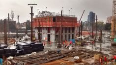 Avance de la torre norte núcleo Tercer nivel | Atrio Bogotá, D. C. 2017
