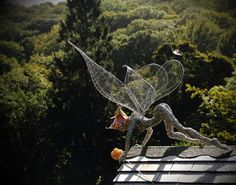 Stunning Fantasy Wire Sculptures of Fairies by Robin Wight