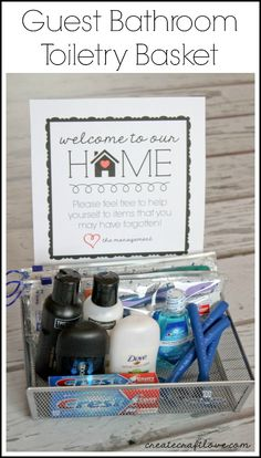 1000 Ideas About Guest Basket On Pinterest Guest Welcome Baskets Guest Room Baskets And