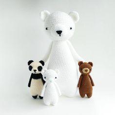 Welcome to Baby Bear Day Care! I am Polar Bear, pleased to meet you!  Pattern by Little Bear Crochets: http://littlebearcrochets.etsy.com ❤️ #littlebearcrochets #amigurumi