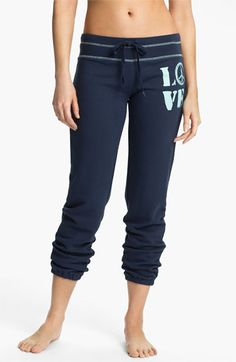PJ Salvage 'Love' Sweatpants available at #Nordstrom Awesomenesssssssssss