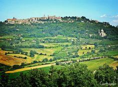 The beautiful hills of Montepulciano