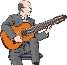 10弦ギター/ナルシソ・イエペス。  10string guitar / Narciso Yepes. #ギタリスト