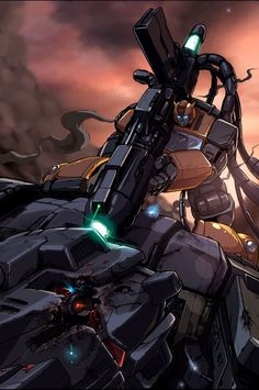 Bumblebee Vs Bruticus by ~DonFig on deviantART - Transformers Autobot Decepticon