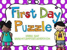 Handprint Puzzle Freebie updated