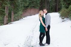 Winter Snowy Tahoe engagement photo session by TréCreative Film&Photo trecreative.com