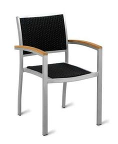 Also available as a side chair. Outdoor Chairs, Outdoor Furniture, Outdoor Decor, Grey Armchair, Contract Furniture, Side Chairs, Resin, Frame, Home Decor