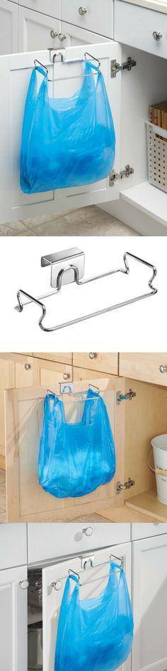 1 objet pour se faciliter la vie dans la cuisine ! Un porte-sacs pour placards, à l'intérieur ou l'extérieur. Ne prend pas de place...