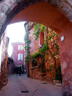 Archway in Roussillon, Provenc