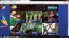 Interactieve website die veel gebruik maakt van kleuren en laat zien waar het over gaat. Misschien wel wat lastig in de omgang.