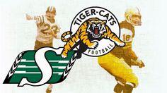 CFL 1972 Grey Cup Saskatchewan Roughriders vs Hamilton Tiger-Cats