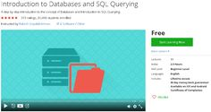 Introduction to Databases and SQL Querying-udemy free coupon